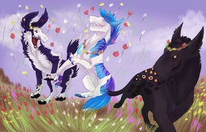 Flower party by Barkyn