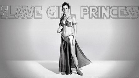 Carrie Fisher Slave Girl Princess XV by Dave-Daring
