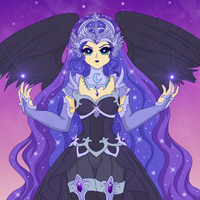 MLP - Human Nightmare Moon by Sailor-Serenity