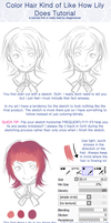 Tutorial: Hair coloring and shading by Dragons-Roar