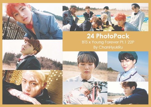 24 / BTS x Young Forever Pt.1 PhotoPack by ChanHyukRu