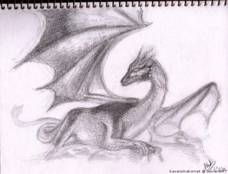 Dragon Sketch by kawaiismaksmak