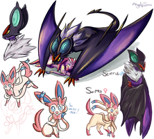 Sylveon and Noivern