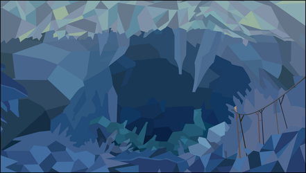 Cave Background by BakaBrony