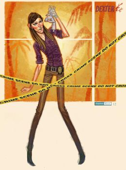 Debra Morgan from Dexter by juarezricci