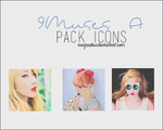 9Muses A - Icons by mayradias