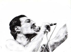 Freddie Mercury by BonaScottina