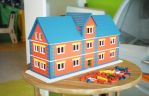 Small building model from plastic bricks by pnn32