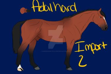 Adalhard Import 3 by DarkShadow-Stallion1