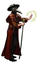 Plague Doctor by thegryph