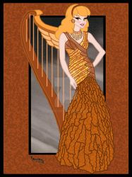 09.Arpa de Oro (Model Harp Gold) by Rob32