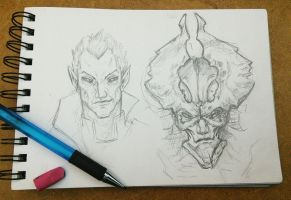 Zephon Sketches by sinDRAWS