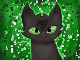 [Testing FireAlpaca] Chimuelo / Toothless by Zacuraptor