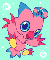 biyomon by extyrannomon