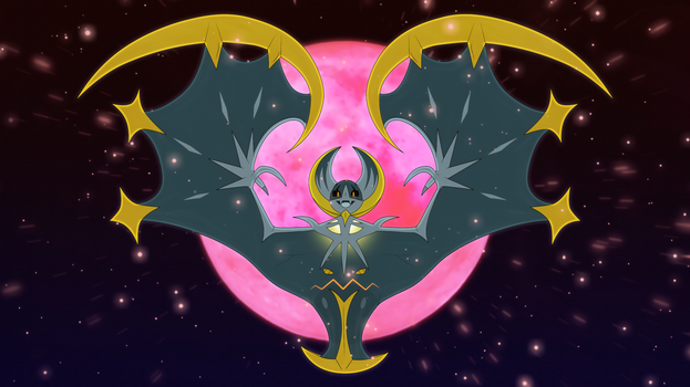 Possesed Lunala by Elsdrake