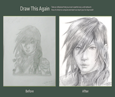 Lightning - Draw This Again Challenge by KyraXIII