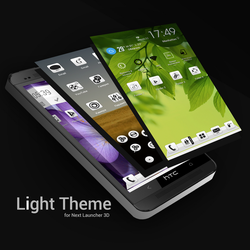 Next Launcher Theme Light by Karsakoff