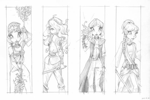 SW bookmarks by Saku28