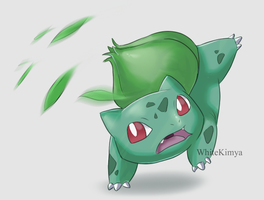 Bulbasaur by WhiteKimya
