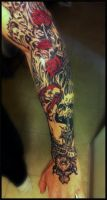 Tattoo colored by Peter-Ortiz