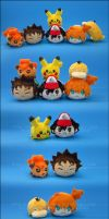 Stacking Plush: Pokemon Vol. 1 by Serenity-Sama