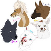 MD doodles by Whitelupine