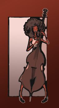 Esperanza Spalding - in color by bms-DA