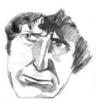 Tom Baker very serious by johnmiic