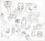 Gareth Angles Sketch Dump by CamKitty2