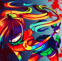 RAINBOW DEATH by Kiwibon