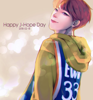 Jhope's Birthday 20180218 by ohwaiying