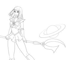 Sailor Saturn by SChappell