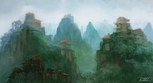 Valley of wisdom and enlightenment by vennom07