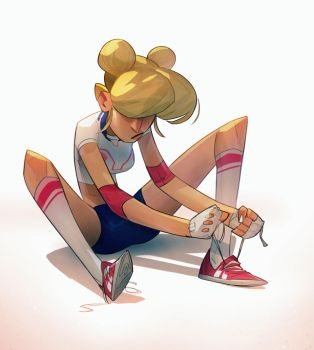 Sporty Moon by MaxGrecke