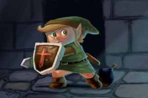 Legend of Zelda's Link by irongiant775