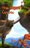 Digital Coyote E-Book Cover by KSchnee
