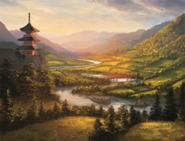 L5R- River of Gold by Alayna