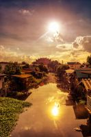Canal life by Tairenar