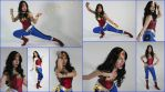 Wonder Woman Cosplay Collage by AmmieChan