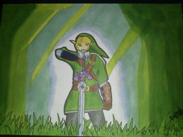 Zelda Link with Promarker by Darkmicha91