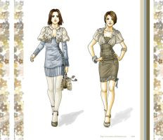 winter flowers-fashion by Tania-S