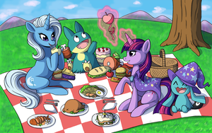 Hearts and stomachs filled by TheMegaX