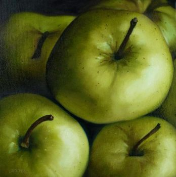 Green Apples by Lillemut