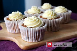Carrot Cupcakes (+YouTube Recipe) by claremanson