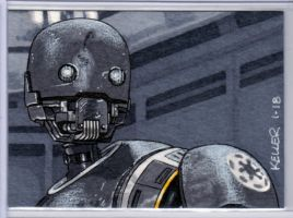 K-2SO ACEO by Rathskeller7