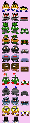 Mario Goomba Family Fun Pack of Sprites by The-Russian-Gestapo