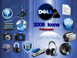 Dell Icons for 2008 by Philosoraptus