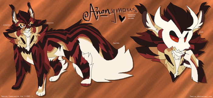 Anonymous Reference - Commission by Teelia