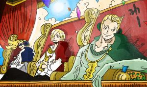 One Piece Chapter 842+ The power of a full stomach by Amanomoon