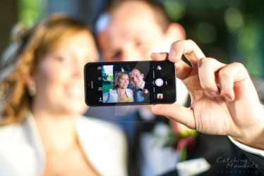 Wedding-Selfie by Catching-Moments